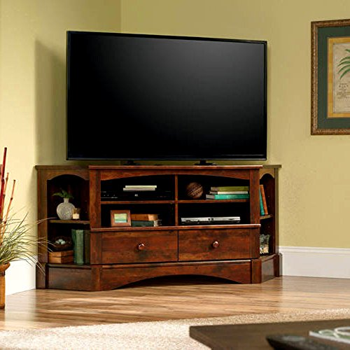 EFD Multi Media TV Stand with Storage Drawers and Adjustable Shelves Curado Cherry Wooden Rectangular Rustic Up to 60 Inch Flat Screen Panel Living Room Media Center & eBook by Easy&FunDeals -