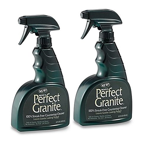 (Hope's Perfect 100% Streak Free Countertop Granite, Marble And Stone Cleaning Spray, 22-Ounce (Pack of 2))