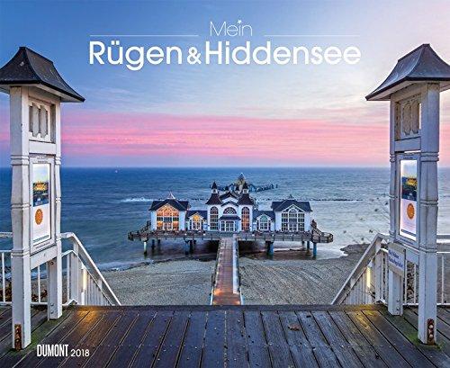 Mein Rügen & Hiddensee 2018 – Wandkalender 52 x 42,5 cm – Spiralbindung