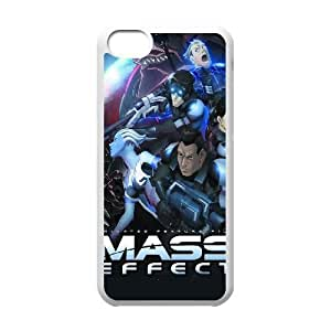 Mass Effect For iPhone 5C Case Cell phone Case Nrjj Plastic Durable Cover
