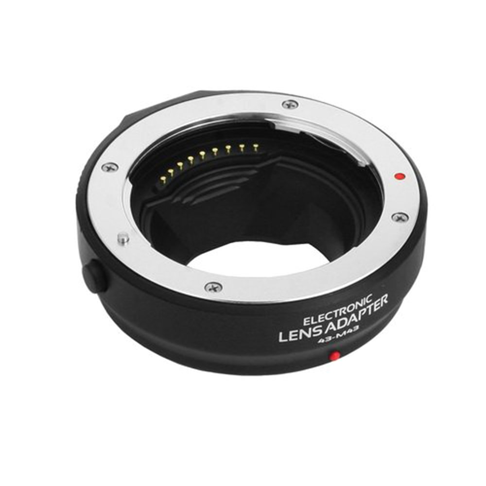 Fotga Auto-Focus AF Lens Mount Adapter for Four Thirds (4/3) Mount Lens to Micro Four Thirds (MFT,M4/3) Mount Camera,Olympus OM-D E-M1 MarkII,E-M5,E-M5 Mark II,Panasonic GH3,GH4,GH5,GH5s Dslr Cameras