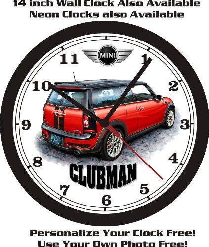 Clock Cooper Mini - MINI COOPER CLUBMAN WALL CLOCK-FREE USA SHIP!