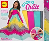 quilt kits for kids - ALEX Toys Craft Knot-A-Quilt Chevron Kit