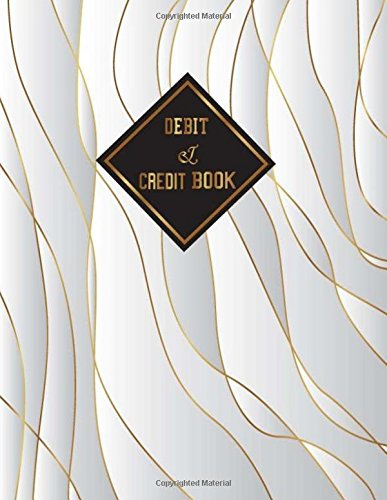 Debit & Credit Book: Simple Accounting Journal Entries Record Book with Column for Date, Description, Reference, Credit and Debit. Daily BookKeeping ... Pages (General Finance Accounting) (Volume 1)