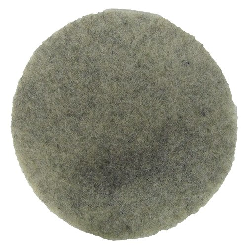 Norton Ultra Grizzly Hog's Hair Pad - 17 Inch Diameter ()