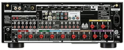 Denon AVRX4200W 7.2 Channel Full 4K Ultra HD A/V Receiver with Bluetooth and Wi-Fi