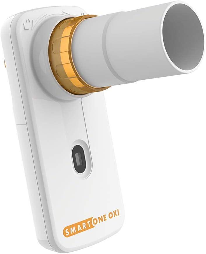 MIR SMART ONE OXI | Oxímetro y espirómetro para uso personal | SpO2, BPM, pico de flujo y FEV1