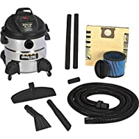 Shop-Vac 5-1/2 HP, 8-Gallon, The Right Stuff Industrial Wet/Dry Vac - 5866110