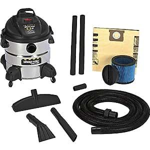 Shop-Vac 5-1/2 HP, 8-Gallon, The Right Stuff Industrial Wet/Dry Vac - 5866110