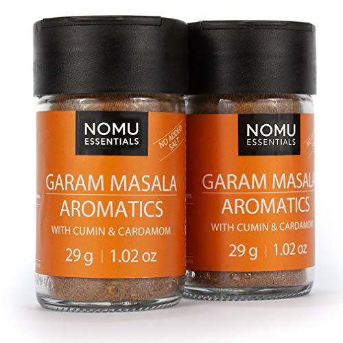 Nomu Essentials Garam Masala Spice Blend (2.04 oz | 2-pack) | MSG & Gluten Free, Non-irradiated, Non-GMO ()