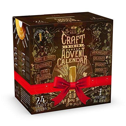 KALEA CRAFT Beer tasting set - 24 ausgewählte Craft Biere und 1 exklusives Verkostungsglas