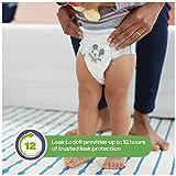 HUGGIES Little Movers Slip On Diaper Pants,Size 4