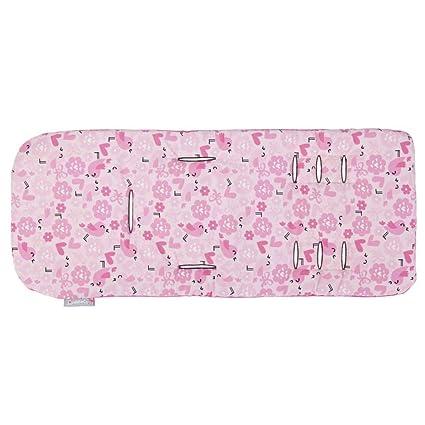 Cobertor de diseño universal para colchoncito Comfi Cush de memoria inteligente para cochecitos reversible