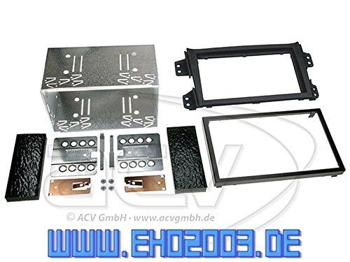 JVC Radio Doppel DIN USB AUX Suzuki Splash EBX22 32 04//2008-10//2014 schwarz