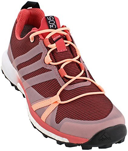 adidas outdoor Women's Terrex Agravic GTX Tactile Pink/Haze Coral/White 6.5 B US by adidas