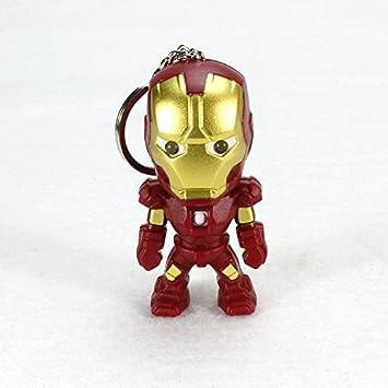 TUDUDU Clásico Iron Man Colgante Llavero La Alianza ...