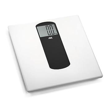 ADE Báscula digital de baño BE1303 Silje. Electrónica con Look decorativo escandinavo y marco en