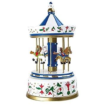 Legler Caja de música: Carrusel Nostalgia Grande, Madera, 16.00 x 16.00 x 28.00 cm: Amazon.es: Hogar