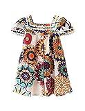 Hipea Toddler Baby Girl Clothes Bohemian Sleeveless