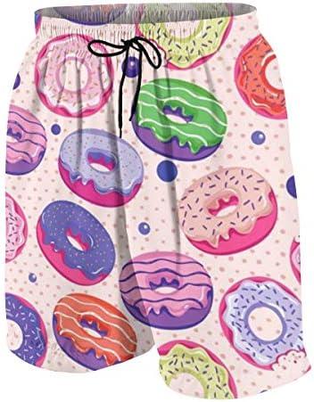 キッズ ビーチパンツ ドーナツ サーフパンツ 海パン 水着 海水パンツ ショートパンツ サーフトランクス スポーツパンツ ジュニア 半ズボン ファッション 人気 おしゃれ 子供 青少年 ボーイズ 水陸両用
