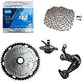 Kit Grupo Absolute 12v Bike 1x12v Corrente Kmc K7 11x50