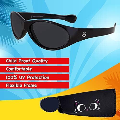 Baby Boys Kids Sunglasses Children Sun Glasses 100/%UV Protection Outdoor Gla bd