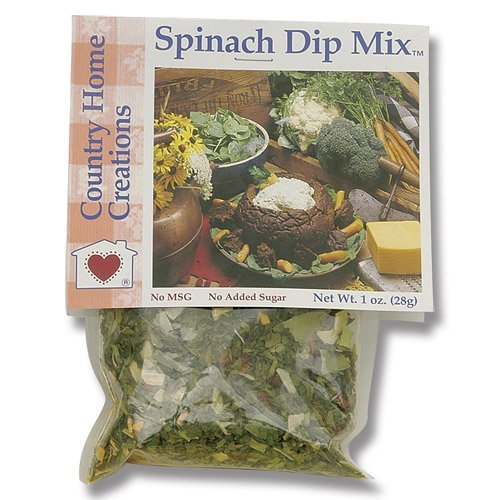 Country Home Creations Spinach Dip Mix - Gourmet Mixes Drinks Dips
