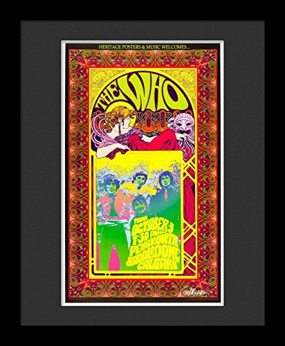 The Who Framed Concert Poster By Bob Masse