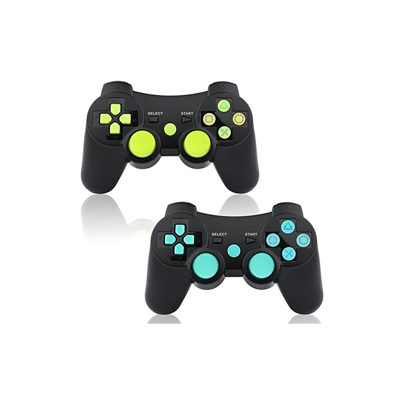 PS3 Controller Wireless 2 Pack Double Sh