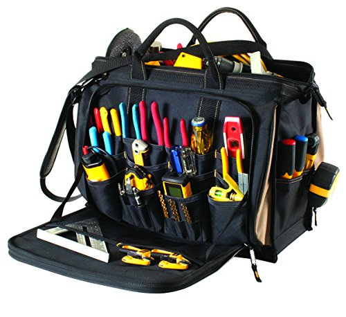 CLC Custom LeatherCraft 1539 Multi-Compartment 50 Pocket Tool Bag