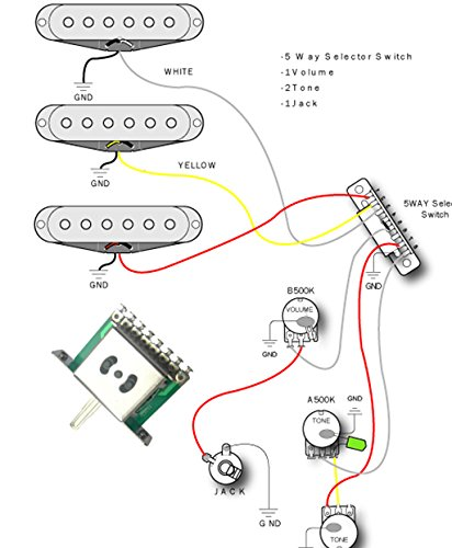 Import strat wiring harness diagram