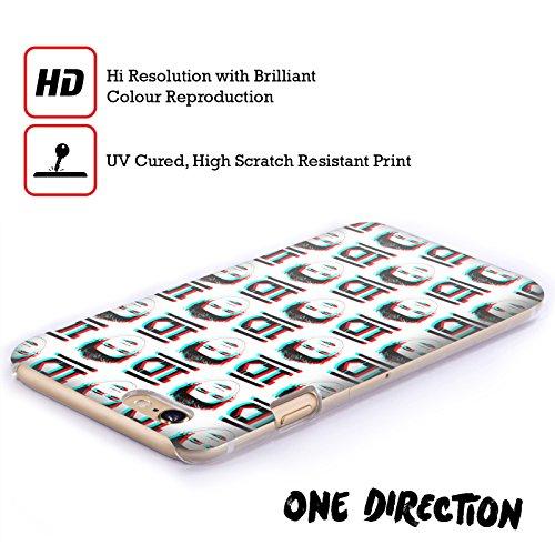 Officiel One Direction Niall Horan Anaglyphe Motifs Griffonnage Visage Étui Coque D'Arrière Rigide Pour Apple iPhone 6 Plus / 6s Plus