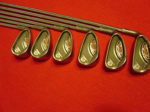 Ping Steel Shafts (Ping G10 Irons 5-PW Green Dot Stiff Flex Steel Shafts Golf Clubs)