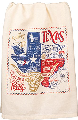 Primitives by Kathy LOL Made You Smile Dish Towel, Texas]()