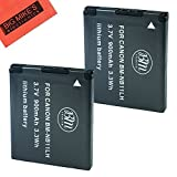 BM Premium 2 Pack Of NB-11L, NB-11LH Batteries for Canon PowerShot Elph 110, Elph 130, Elph 135 IS, Elph 140 IS, Elph 150 IS, Elph 160, Elph 170 IS, Elph 180, Elph 190 IS, Elph 320 HS, Elph 340 HS, Elph 350 HS, Elph 360 HS, A2300 IS, A2400 IS, A2600 IS, A3400 IS, A4000 IS, SX400 IS, SX410 IS, SX420 IS Digital Camera