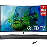 Samsung QN65Q8C Curved 65-Inch 4K Ultra HD Smart QLED TV (2017 Model) +