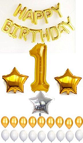 [해외]호일 풍선 넘버 1/Number 1 with foil balloon