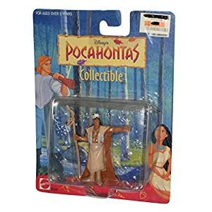 3″ Pocahontas Chief Powhatan Collectible Figure
