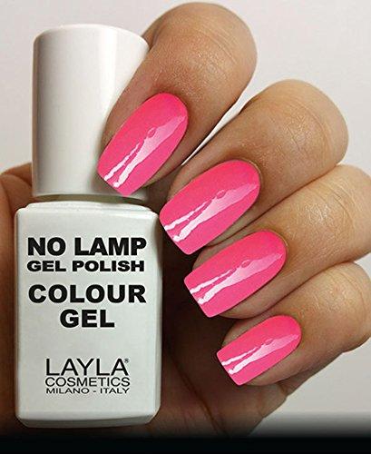 Layla Cosmetics Milano Lamp Gel Polish Motivo Smalto Per Unghie