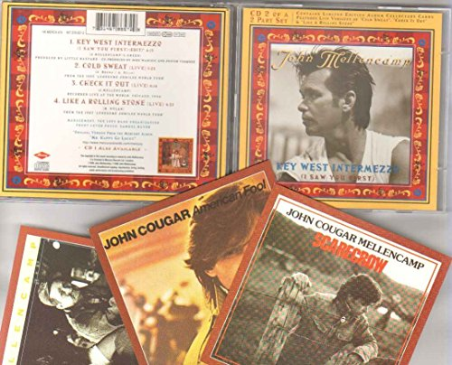 JOHN COUGAR MELLENCAMP - KEY WEST INTERMEZZO - CD (not vinyl)
