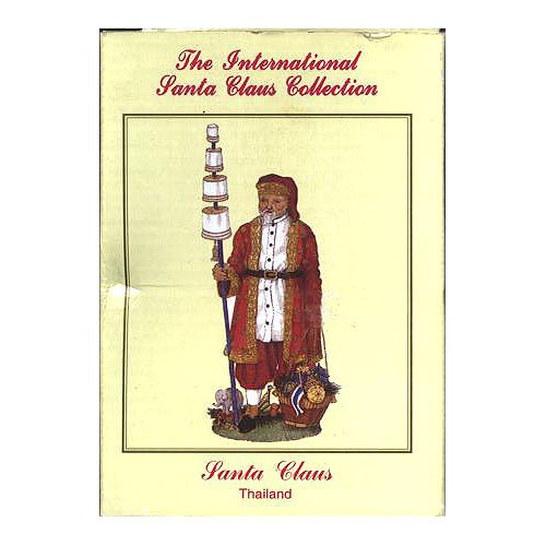 The International Santa Claus Collection Thai Santa Thailand Christmas No. SC38 by International Resourcing Services