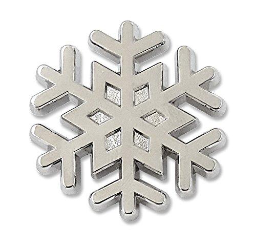 Pinsanity Christmas Snowflake Lapel Pin