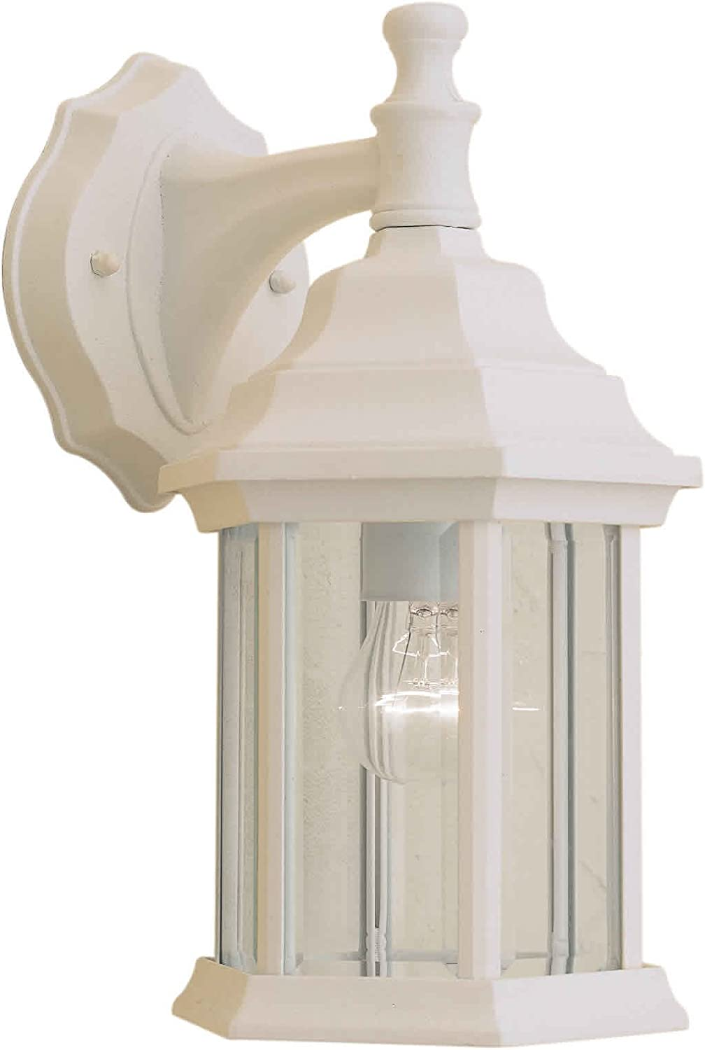 white outdoor wall lights lantern forte lighting 17150113 exterior wall light with clear beveled glass shades matte white porch lights amazoncom