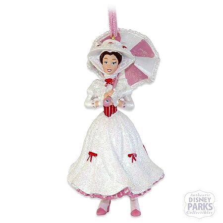 Disney Parks Mary Poppins Figurine Holiday Ornament: Amazon ...