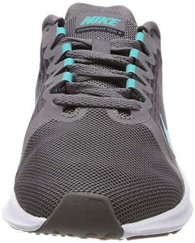 Nike De Zapatillas Para 8 Grey 011 gunsmoke hyper Mujer Downshifter Jade oil black Wmns Running Multicolor qSxtprxw