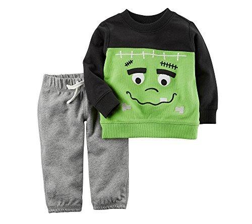 Carter's Baby 2 Piece Frankenstein Top And Pants Set -