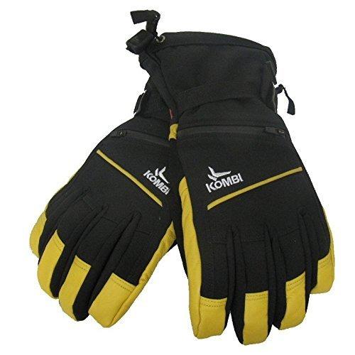 Kombi Insulated Gloves - Kombi Men's Sanctum Cold Weather Gloves, Medium, Black Wheat