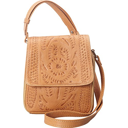 Purse Crossover Ropin Purse Ropin West Natural Natural West Crossover 00CKEq