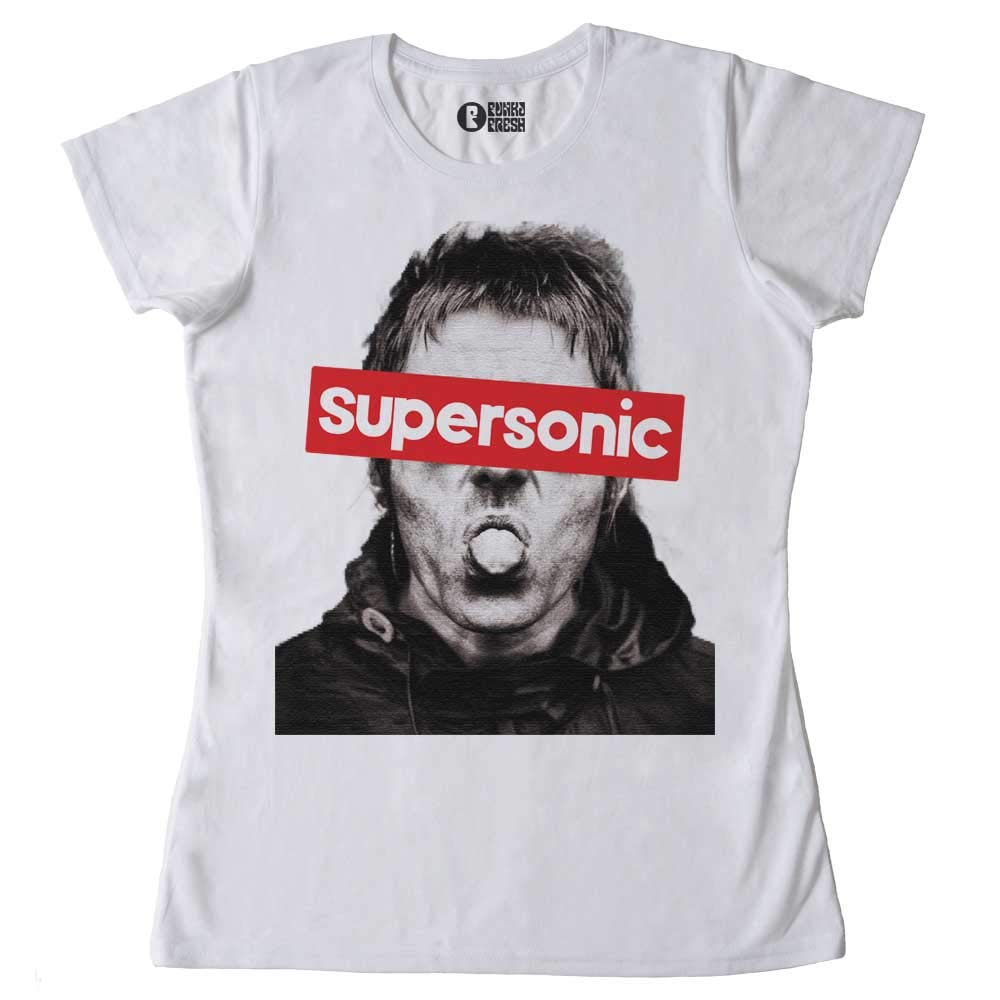 T-Shirt Supersonic Maglietta Musica Brit Pop Rock Inglese