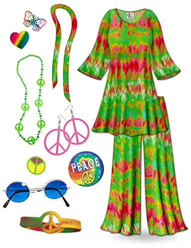 Green (Hippie Costumes Kit)